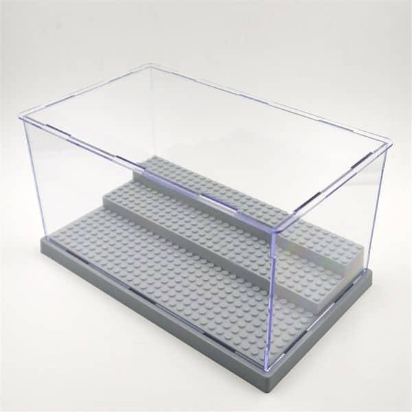 Прозрачный ящик для демонстрации фигурок LEGO