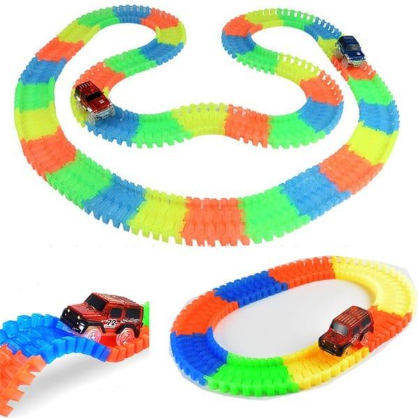 Детская гоночная трасса Magic Tracks, купленная на Aliexpress