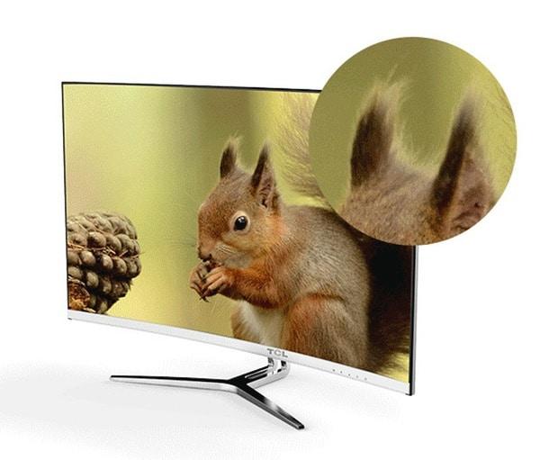 31-дюймовый монитор TCL T32M6C с изогнутым экраном