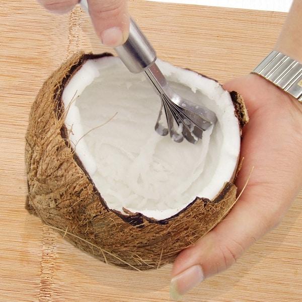 Скребок для разделки кокосового ореха