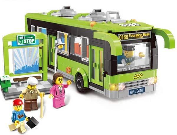 Альтернатива конструктору Lego из 420 деталей