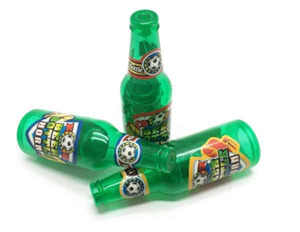 Футбольная дудка в виде пивной бутылки