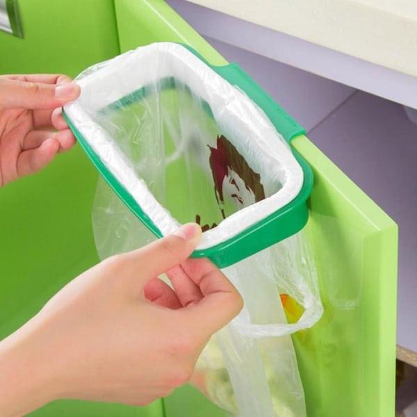 Пластиковая рамка для подвешивания мусорных пакетов