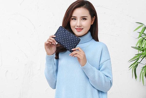 Складная сумка для покупок, заказанная с Aliexpress