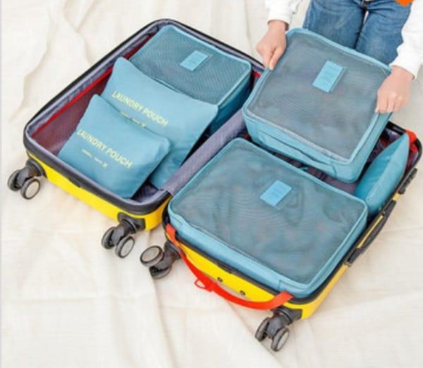 Набор упаковочных контейнеров для чемоданов Honana HN-TB8