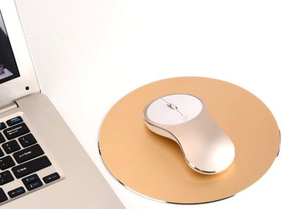 Аккумуляторная беспроводная мышка Q8 FOX с зарядом по USB