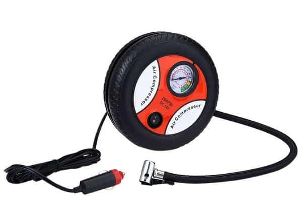 Электрокомпрессор в форме колеса