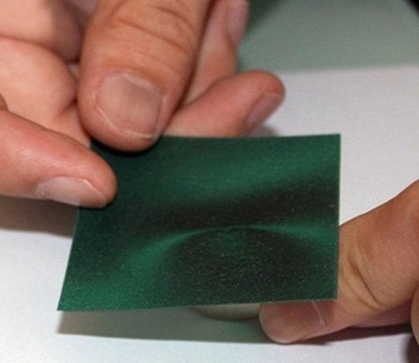 Пластинка для визуализации магнитного поля