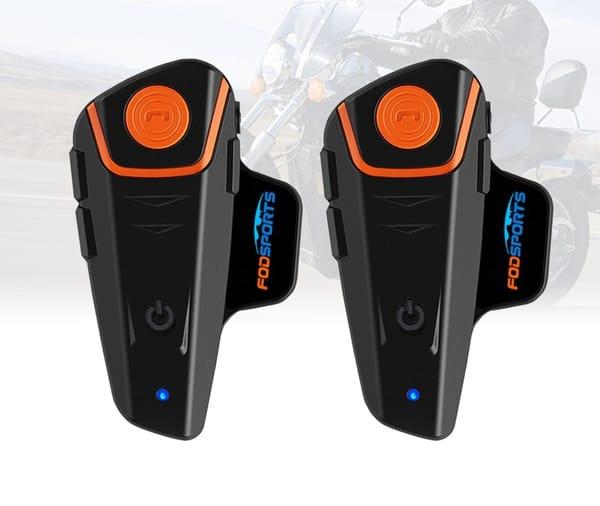Гарнитура для мотоциклистов с режимом интеркома