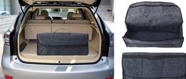 Короб из войлока для автомобильного багажника