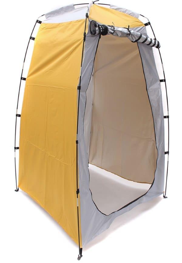 Палатка для организации походного душа и туалета