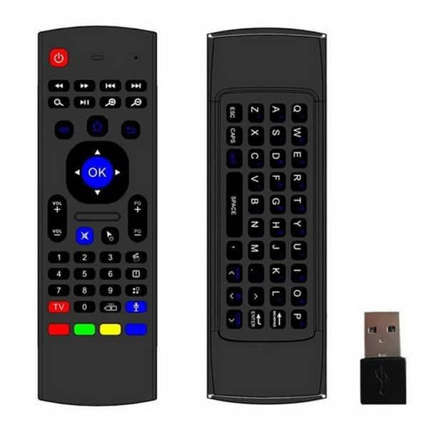 Универсальный пульт управления для ТВ-боксов с клавиатурой и аэромышью