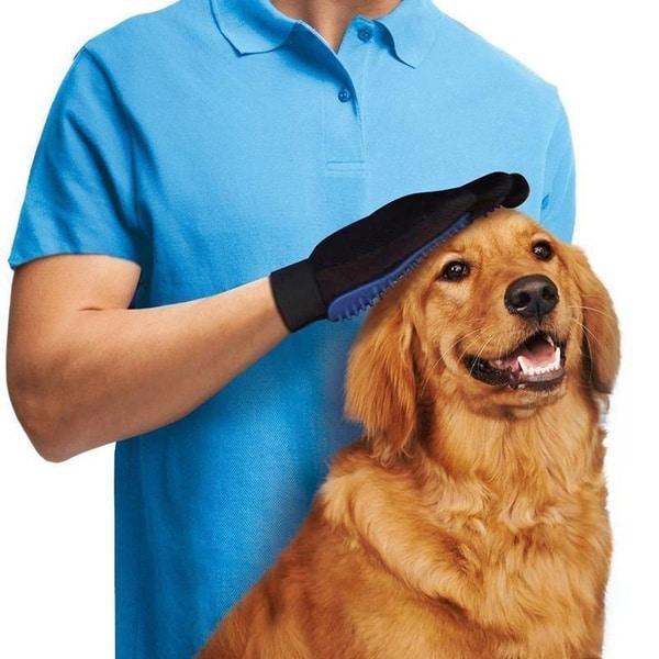 Перчатка для вычёсывания домашних животных