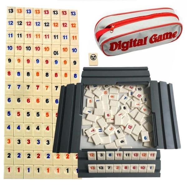 Настольная игра с цифрами Rummikub