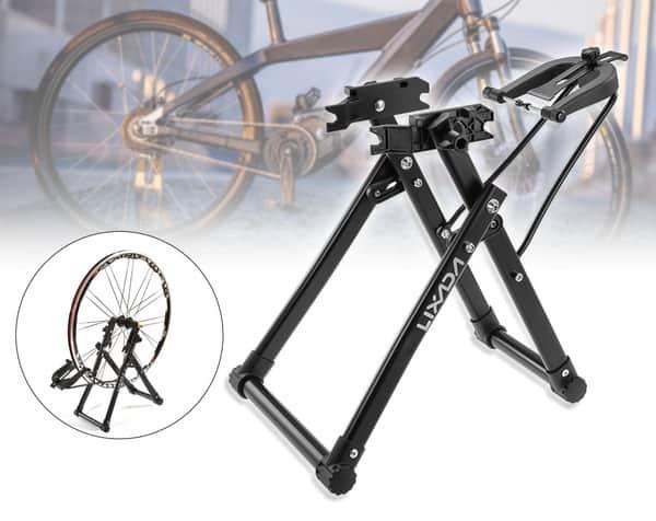 Стойка для исправления велоколёс