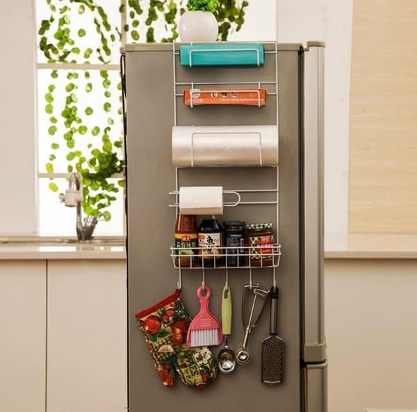 Каркасная полочка-органайзер для холодильника