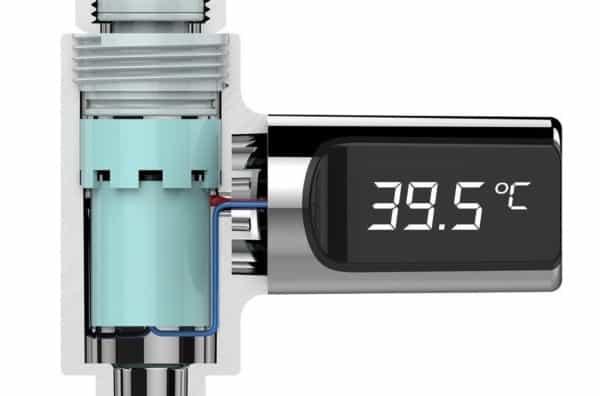 Отзыв на измеритель температуры воды в смесителе Loskii LW-101