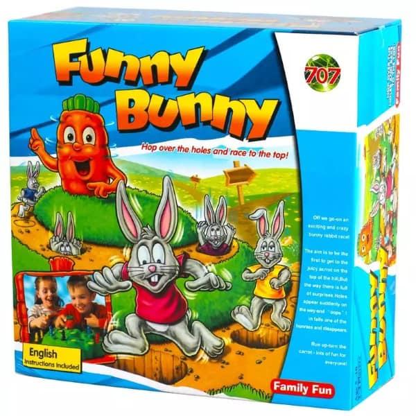 Детская настольная игра про кроликов
