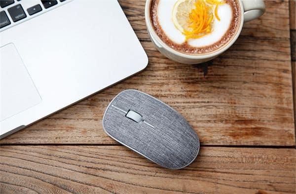 Компьютерная мышка с покрытием из ткани