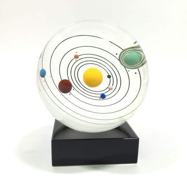 Солнечная система в стеклянном шаре