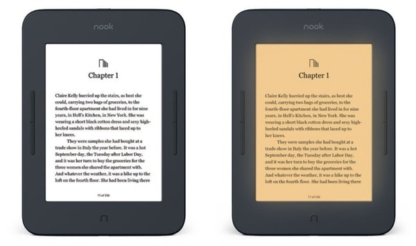 Опыт заказ читалки NOOK GlowLight 3 из США