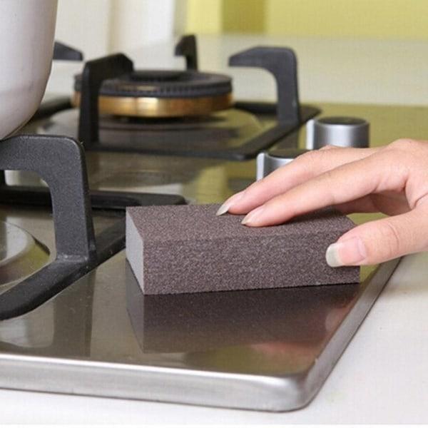 Кухонная губка с напылением Carborundum