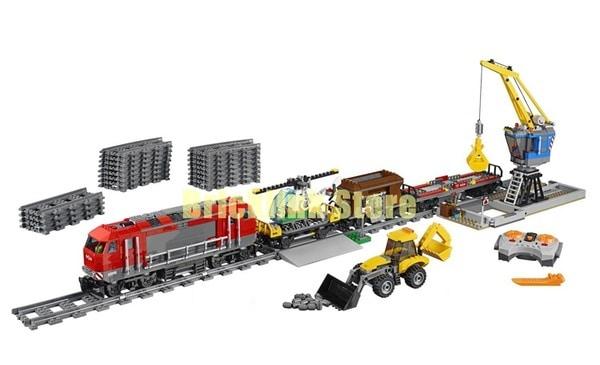 Сравнение LEGO и Lepin на примере конструктора железной дороги