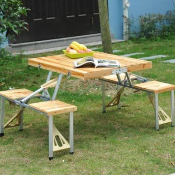 Опыт заказа складного столика для дачи в немецком Aosom