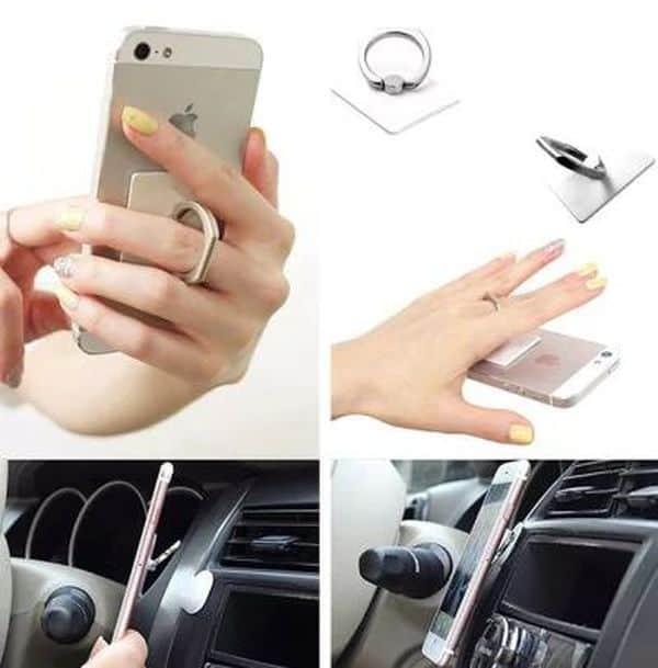 Мультиобзор крепёжных колец для смартфонов