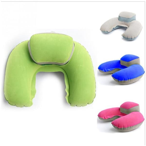 Надувная подушка с высокой подставкой под голову