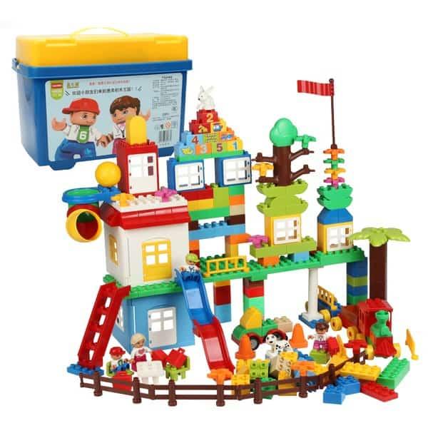 LEGO-подобный конструктор, заказанный на TaoBao
