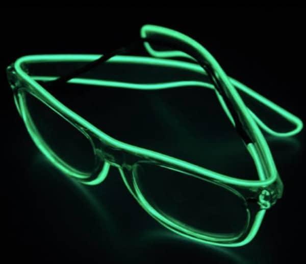 Клубные очки с неоновой подсветкой, полученные с BangGood