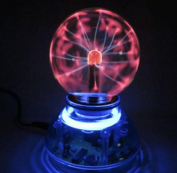 Плазменный светильник, полученный с BangGood