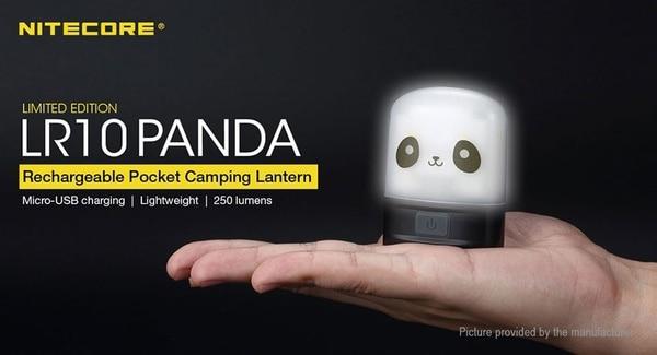 Карманный светильник Nitecore в виде панды