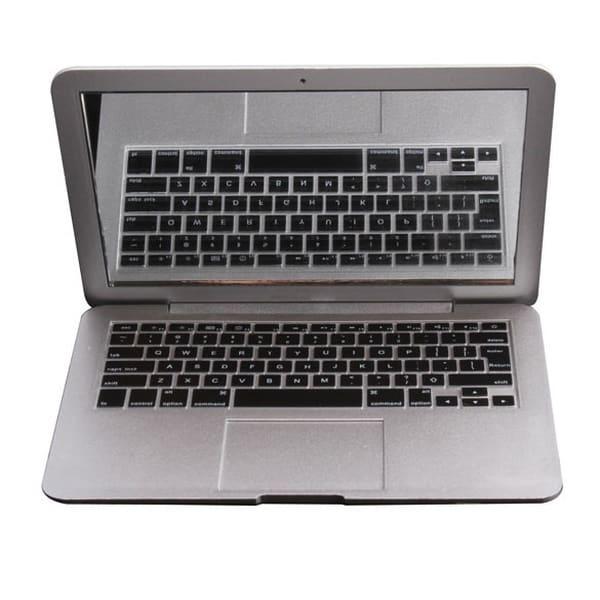Косметическое зеркальце в виде MacBook Air