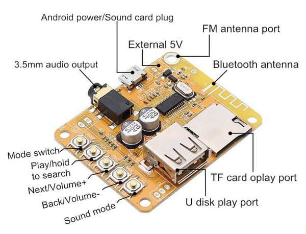 Модуль Bluetooth для самостоятельных поделок