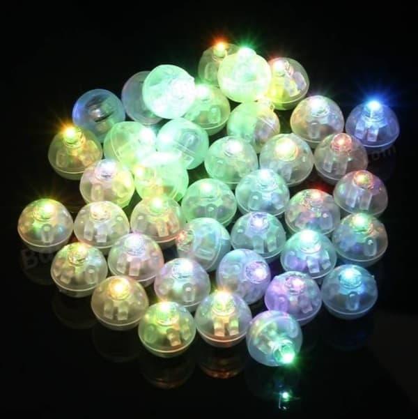 LED-фонарики для воздушных шаров