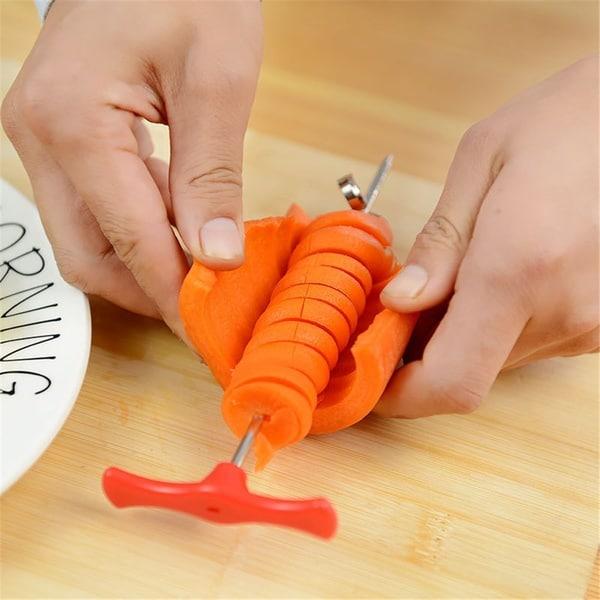 Приспособление для спиральной нарезки овощей