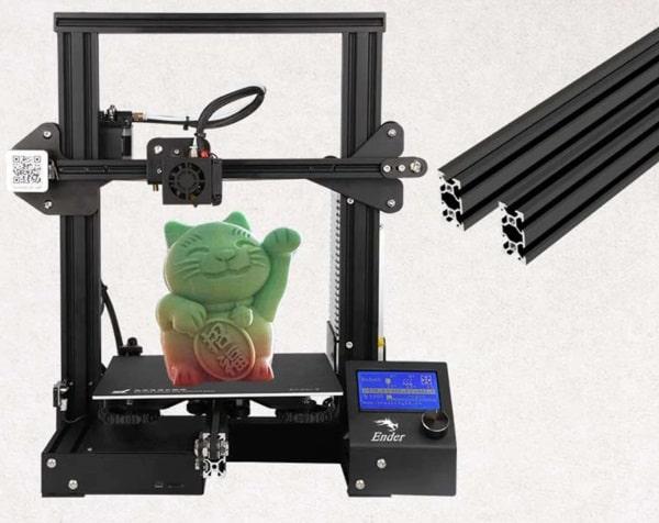 Экспресс-обзора 3D-принтера Creality3D Ender - 3