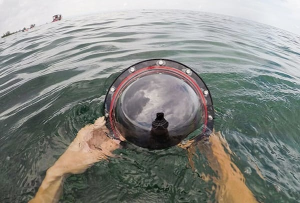 Аквабокс для панорамной съёмки под водой