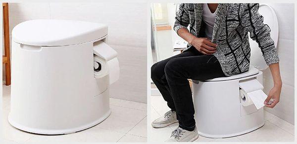 Мобильный туалет для замены удобств во дворе