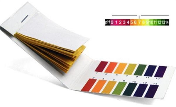 Лакмусовые полоски для тестирования уровня pH