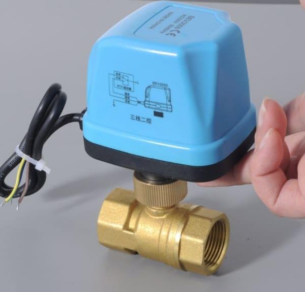 Автоматический кран для труб с водой SEV3000