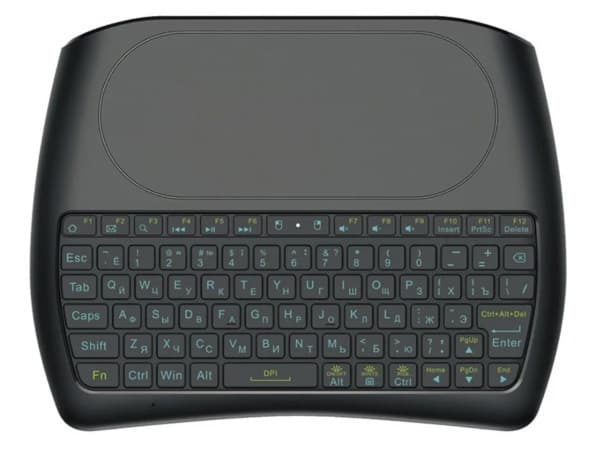 Портативная клавиатура с большим тачпадом