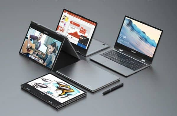 360-градусный ноутбук Teclast F5