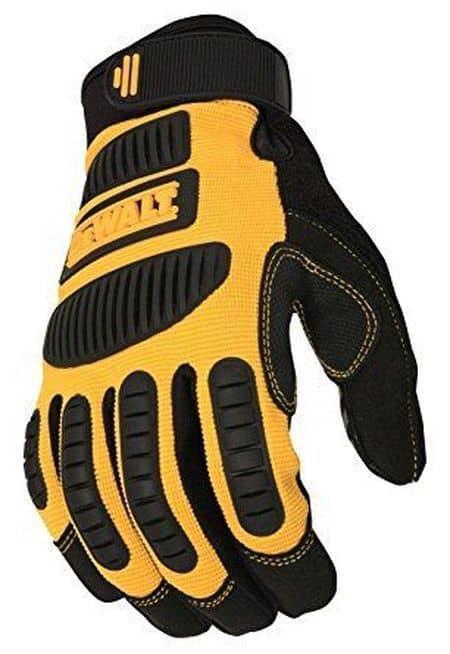 Перчатки для работы DeWalt DPG780L, купленные на Ebay