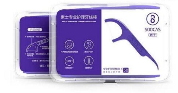Продвинутая зубная нить Soocas от Xiaomi