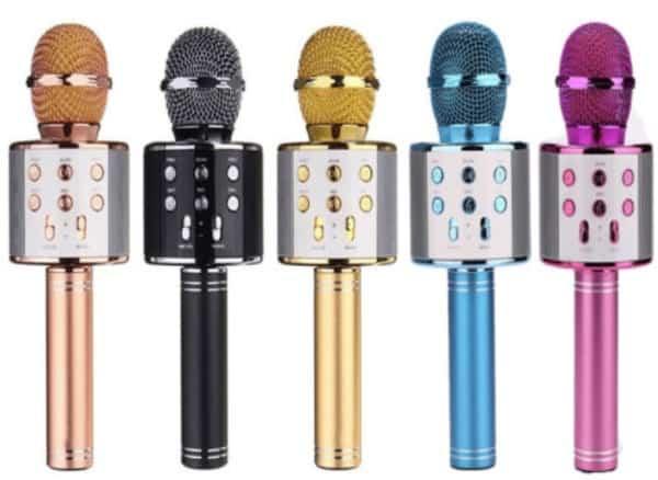 Беспроводной микрофон для караоке