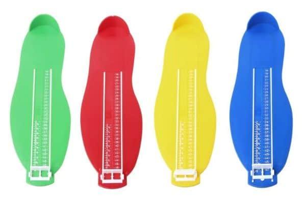 Шаблон для измерения длины стопы