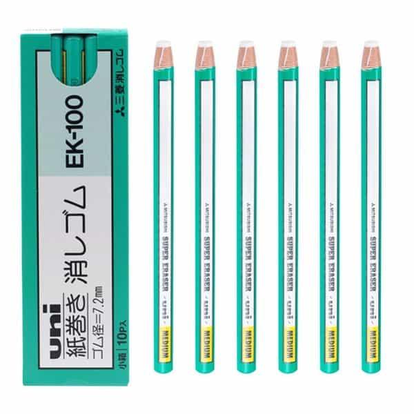 Стирательная резинка Mitsubishi в формате карандаша